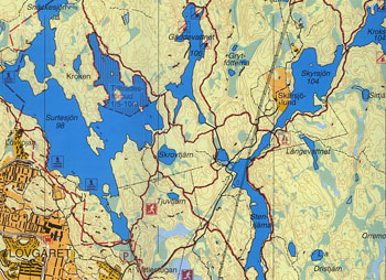 vättlefjäll karta Vandringskarta   Vättlefjällsvandringen vättlefjäll karta